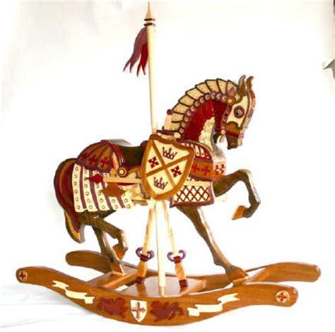 woodworking plan  patterns   carousel armor horse