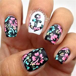 15 Fashionable Nail Designs with Anchor Patterns for ...