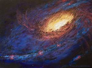 M106 Galaxy – Space Art By Christopher Doll