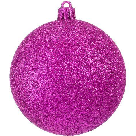glitter baubles pink dzd