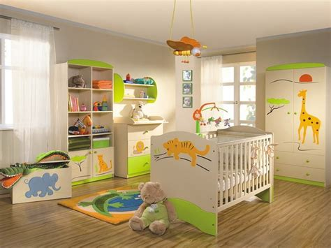 Cool Jungle-inspired Kids Room Designs
