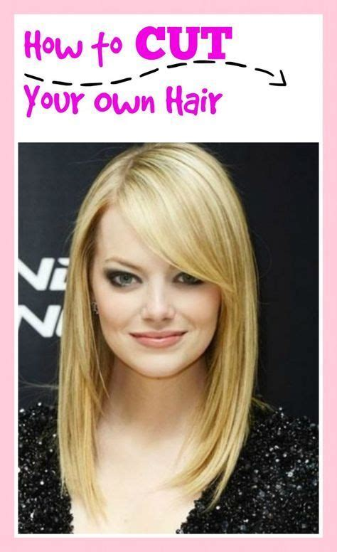 how to style your own hair how to cut your own hair haircuts hair steps and hair cuts 8989