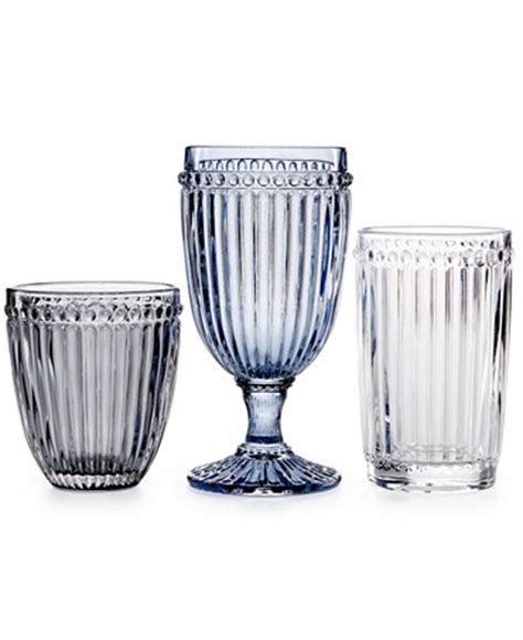 Mikasa Barware by Mikasa Glassware Italian Countryside Collection All