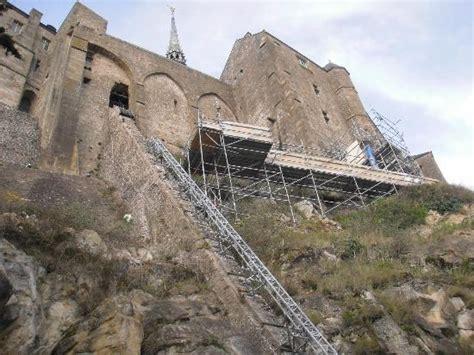 mont michel travaux travaux en cours 224 l int 233 rieur picture of abbaye du mont michel mont st michel