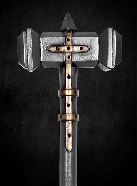 paladin war hammer larp weapon