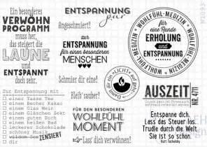design silberschmuck sprüche slogans stempelplatte wellness und entspannung ein designerstück aeh design