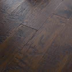 shaw floors panorama 6 3 8 quot engineered handscraped hickory flooring in evening glow reviews