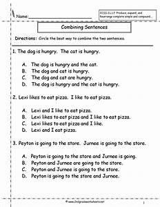 Unscramble Sentences Worksheets 1st Grade