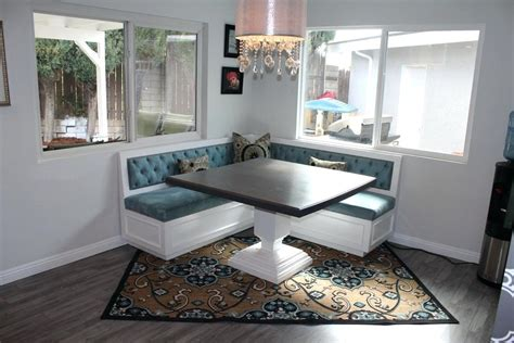 Banquette Dining Table