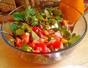 Honig Senf Sauce Salat : tomaten rapunzel salat mit honig senf sauce von schneewittchenkuchen ~ Watch28wear.com Haus und Dekorationen