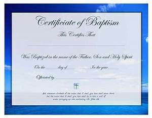 free printable baptism certificate template prayers With free printable baptism certificates templates