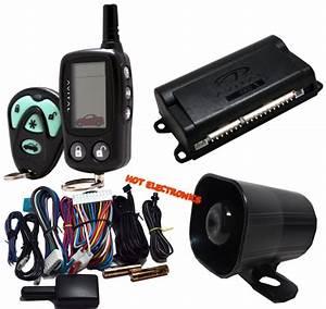 Avital 3300 Car Alarm Security System And 2