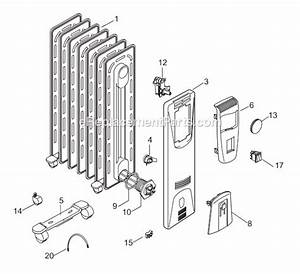 Delonghi Ew6507m Parts List And Diagram