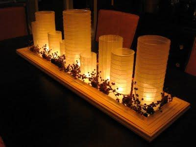 dining room centerpiece ideas candles a great idea from thethrifty decor a diy everyday