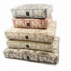 amazoncom rectangle toile eco friendly pet bed black With toile dog bed
