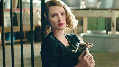 wife jessica chastain zookeeper caro niki interview film zookeepers story trailer war fandango waiting tables director star