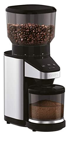 Benefits of an automatic pour over coffee maker with grinder. KRUPS GX420851 Coffee Grinder with Scale, 14 oz, Black » Best Rated Coffee Makers