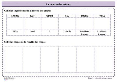 recettes de cuisine pdf librairie la recette des crêpes