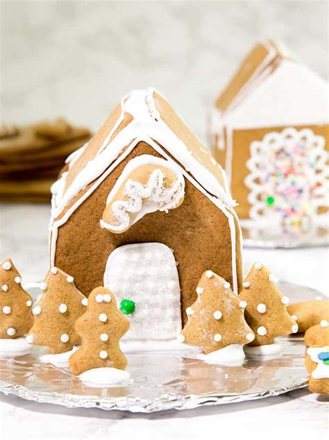 gluten  gingerbread house recipe video