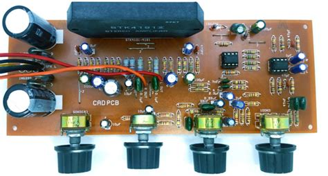 Stk Stereo Power Amplifier Diy Kit With