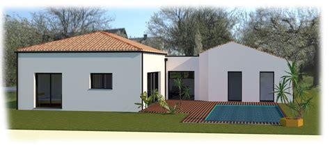 plan maison contemporaine plain pied 4 chambres maison traditionnelle plain pied à belleville sur vie en