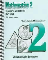 christian light math christian light publications math grade 2