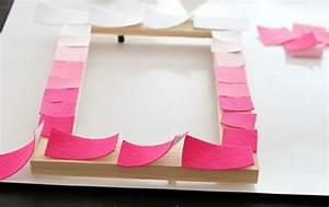 Rahmen Mit Stoff Beziehen : 1001 ideen wie sie einen originellen bilderrahmen selber machen ~ Markanthonyermac.com Haus und Dekorationen