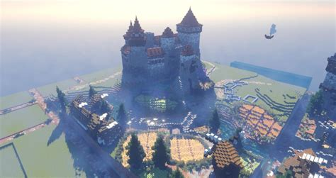 awesome minecraft medieval buildings