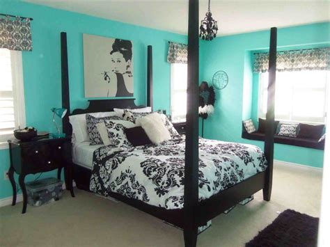 Teal And Black Wall Decor