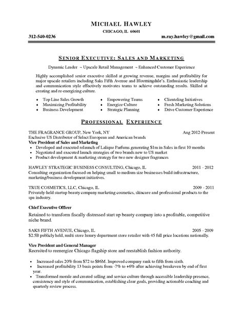 sle student resume summary statements sales focused resume