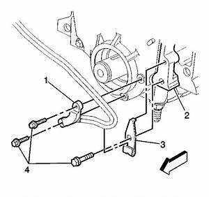 Where Is The Crankshaft Position Sensor Located On A 2003 Buick Rendezvous