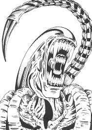 aliens vs predator drawing - Google zoeken | Predator art