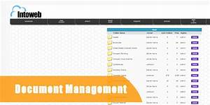 Intranet systems intranet intoweb for Document management system login