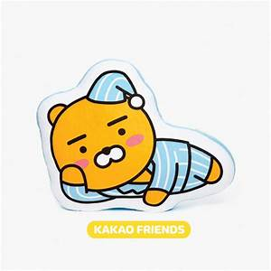 KAKAO FRIENDS Official Goods RYAN Large Flat Cushion ...
