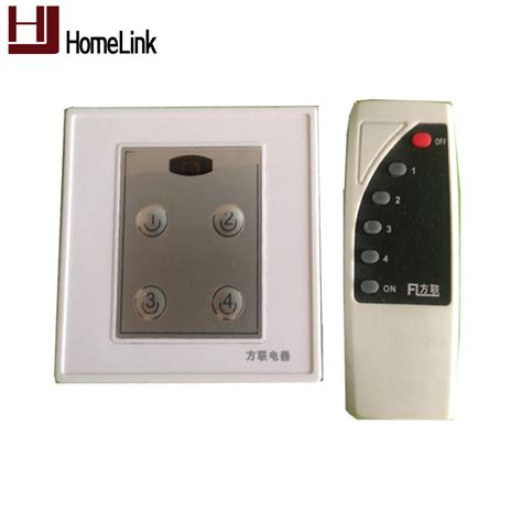 smart home light control free shipping switch panel ir wall light switch smart home