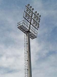 Stadium lighting poles mita