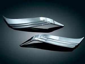 Kuryakyn 3235 Goldwing Gl1800 Trunk Taillight Visors