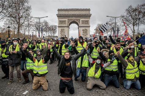 frances yellow vests challenge monday note
