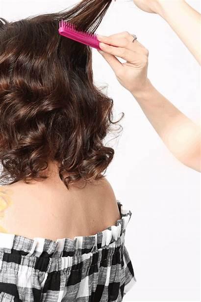 Tease Hair Retro Hairstyle Tutorial Waves Step