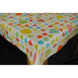 dotty fruit multi vinyl tablecloth wipe clean tablecloth