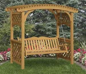 Covered benches, trellis bench garden arbor with bench