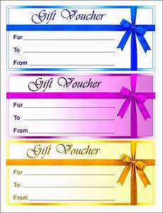 10 Gift Voucher Template In Editable Form