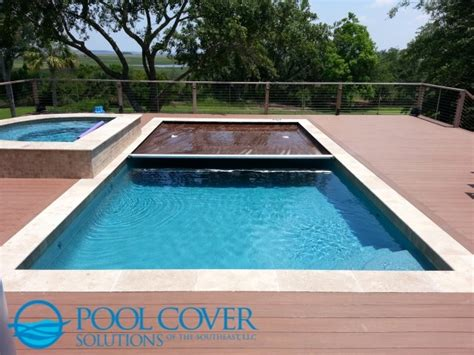 Brown Decor Living Room by Wood Deck Automatic Pool Cover And Spa Cover Traditional