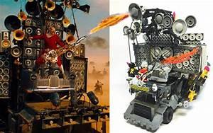 Mad Max Voiture : des enceintes fonctionnelles sur un v hicule mad max r alis en lego golem13 fr golem13 fr ~ Medecine-chirurgie-esthetiques.com Avis de Voitures