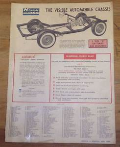 1963 Renwal Visible Automobile Chassis Instruction Manual