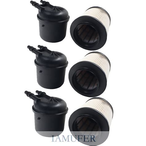 2011 6 7 Fuel Filter by 3 Set Fuel Filters Fd4615 Liter Powerstroke For 2011 2016