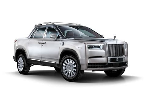 Rolls-royce Pickup Truck Rendering Is One Utilitarian