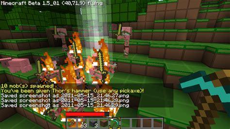 lightning kill zombie pig pigman into pigs smp minecraft which sword turned diamond pickaxe sound hitting bukkit still seems