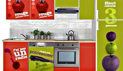 stickers meuble cuisine