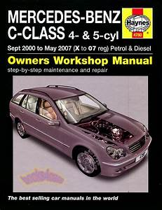 Shop Manual Mercedes C Class Service Repair Haynes C180 C220 C270